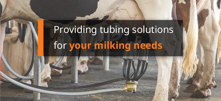 Milk Tubing Vacuum Tubing Dairy Finger Lakes Extrusion Mobile Banner