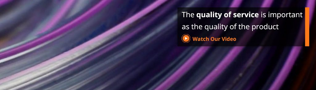 Quality of Service Tablet Banner
